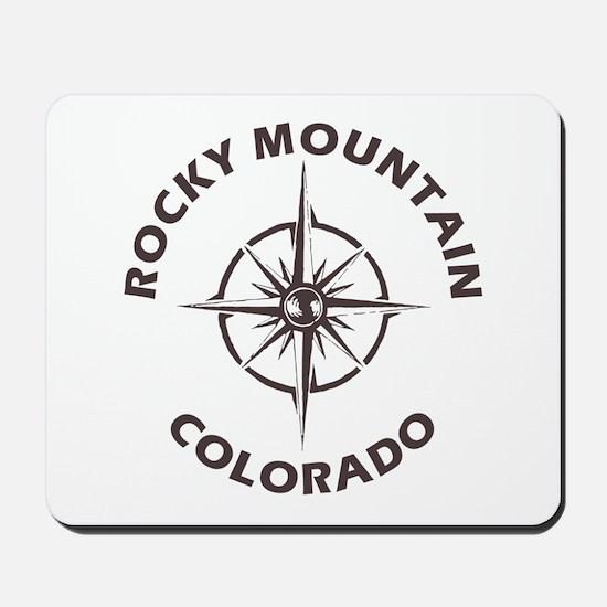 Rocky Mountain - Colorado Mousepad