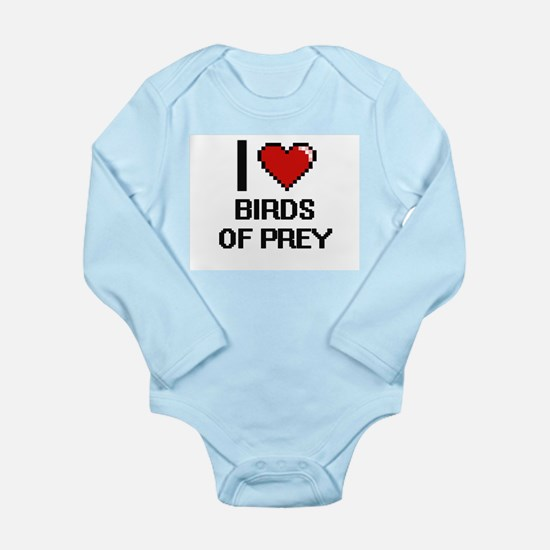 I love Birds Of Prey Digital Design Body Suit