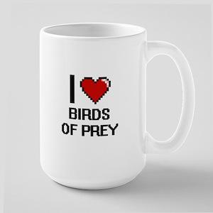 I love Birds Of Prey Digital Design Mugs