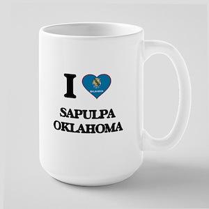 I love Sapulpa Oklahoma Mugs