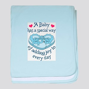 A Special Way baby blanket