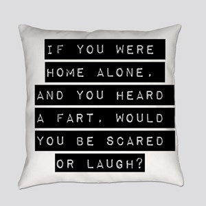 If You Were Home Alone Everyday Pillow