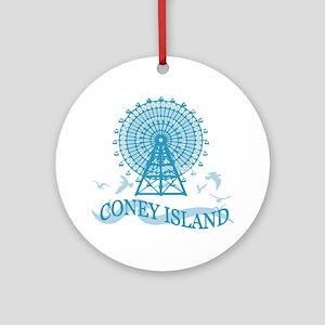 Cape Elizabeth Me - Lighthouse Ornament (round)