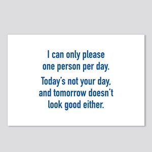 Today's Not Your Day Postcards (Package of 8)