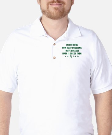 Math Is One Of Them Golf Shirt