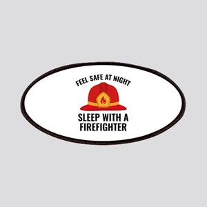Sleep With A Firefighter Patches