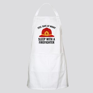 Sleep With A Firefighter Apron