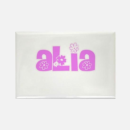 Alia Flower Design Magnets