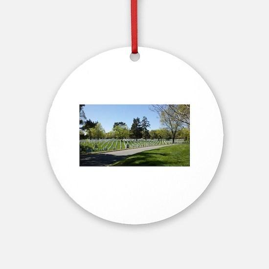 Washington DC Arlington Ornament (Round)