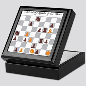 Chess Master Alexander Petrov Retreat Keepsake Box