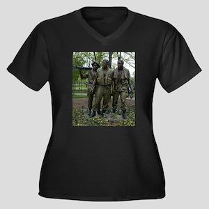 Washington DC war memorial Plus Size T-Shirt