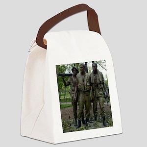 Washington DC war memorial Canvas Lunch Bag