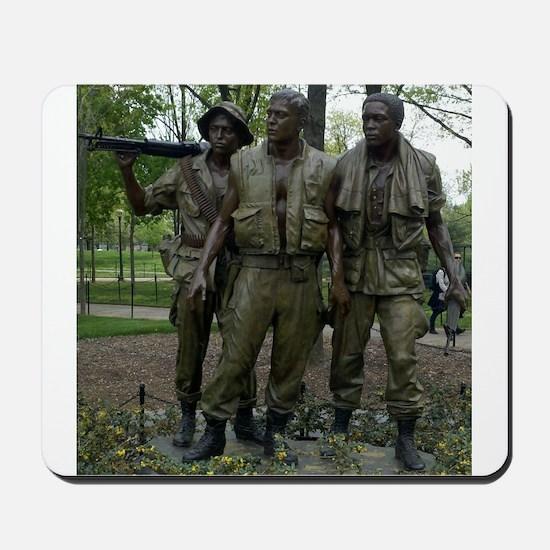 Washington DC war memorial Mousepad