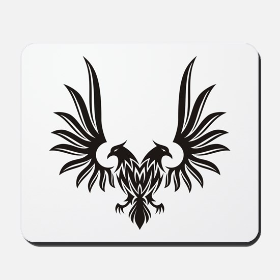 Eagle with two heads Mousepad
