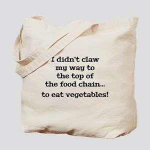 Top Of The Food Chain Tote Bag