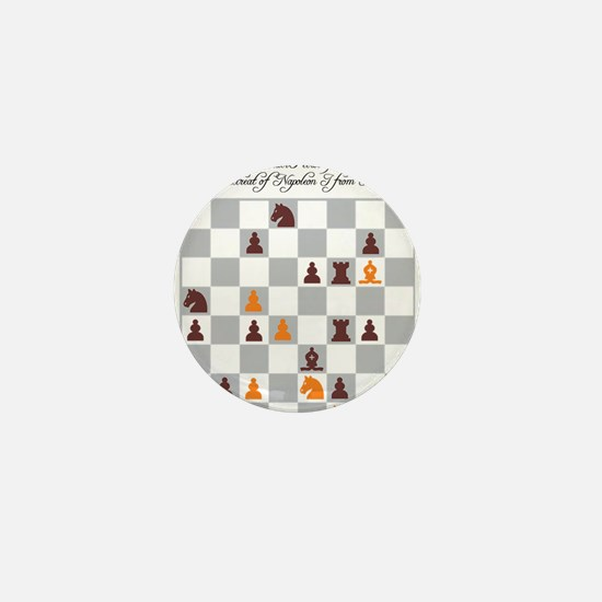 Chess Master Alexander Petrov Retreat Mini Button