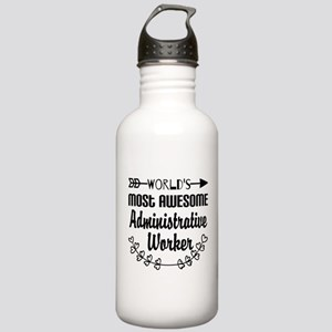 World's Most Awesome A Stainless Water Bottle 1.0L
