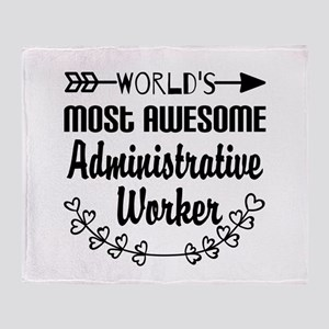 World's Most Awesome Administrative Throw Blanket
