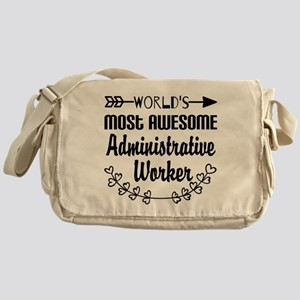 World's Most Awesome Administrative Messenger Bag