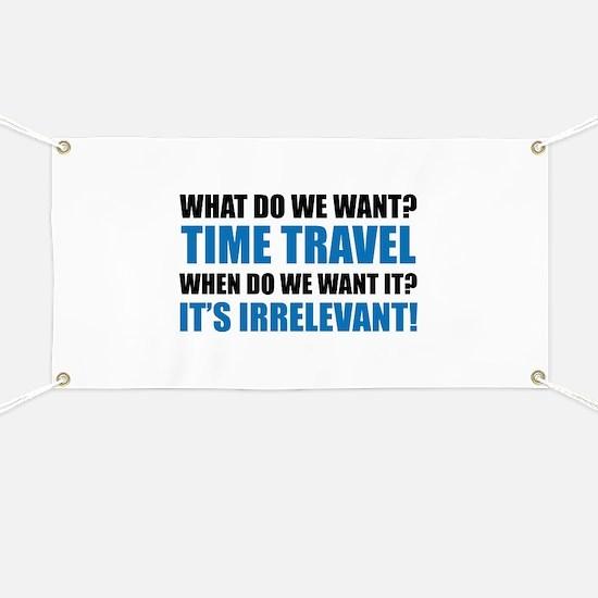 Time Travel Banner