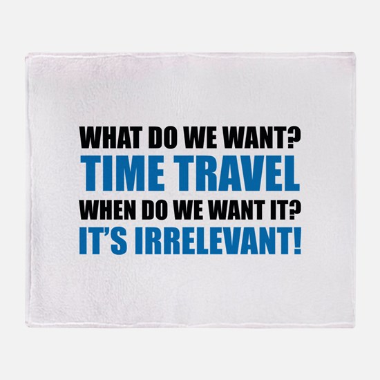 Time Travel Stadium Blanket