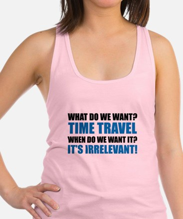 Time Travel Racerback Tank Top