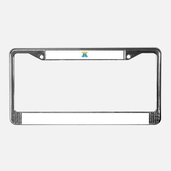 Car Wash License Plate Frame