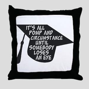 Funny Graduation Throw Pillow