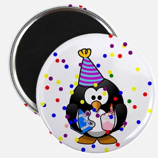 Party Penguin Confetti Magnets