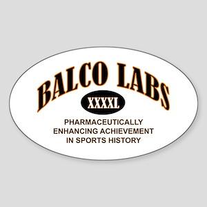 Balco Oval Sticker
