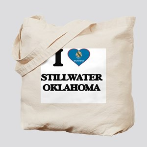 I love Stillwater Oklahoma Tote Bag