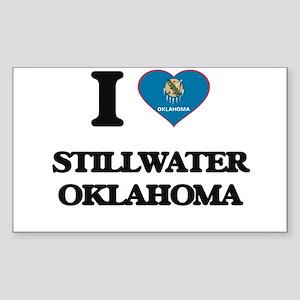 I love Stillwater Oklahoma Sticker