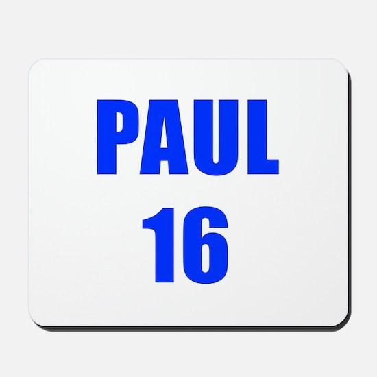 Paul 16-Imp blue 4 Mousepad