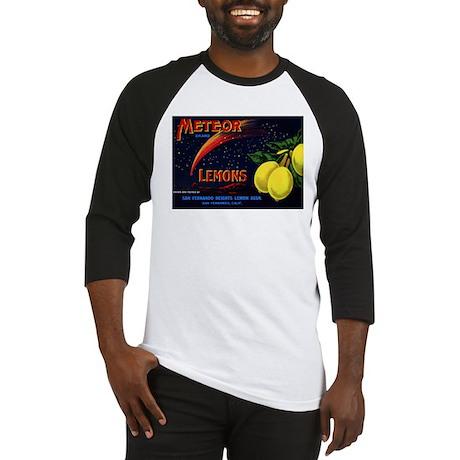 Meteor Lemons Baseball Jersey