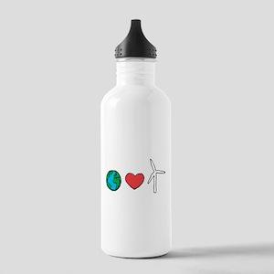 Earth Loves Wind Water Bottle