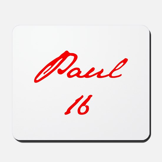 Paul 16-Jan red 4 Mousepad