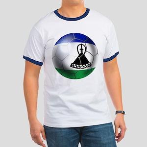 Lesotho Soccer Ball Ringer T