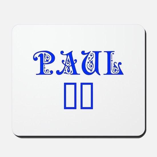 Paul 16-Pre blue 4 Mousepad