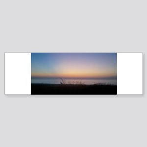 Delaware beach sunrise Bumper Sticker