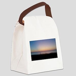 Delaware beach sunrise Canvas Lunch Bag