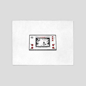 Nu pogodi electronica game vintage 5'x7'Area Rug
