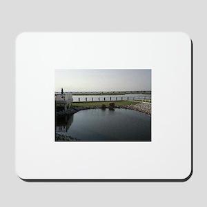 Chincoteague Channel View Mousepad