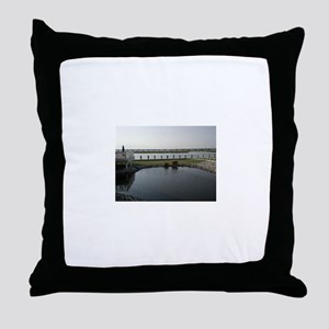 Chincoteague Channel View Throw Pillow