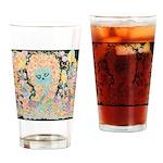 """Muerta Lisa"" Drinking Glass"