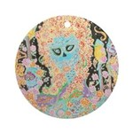 """Muerta Lisa"" Ornament (Round)"