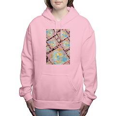Art Nouveau Lady Women's Hooded Sweatshirt