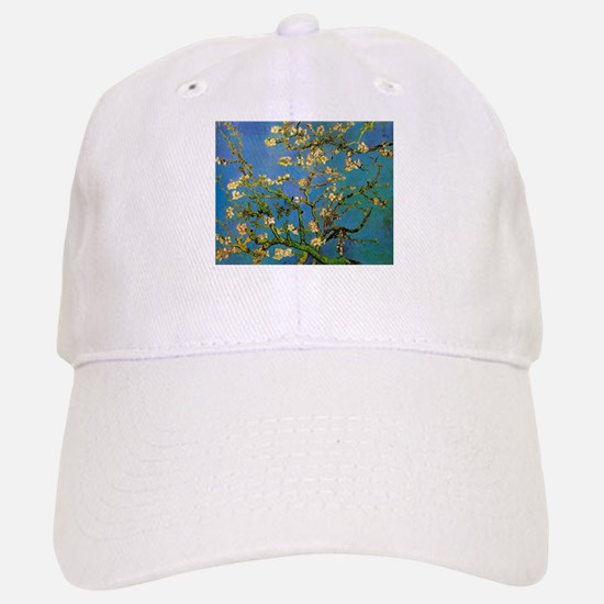 Blossoming Almond Tree by Vincent van Gogh Baseball Baseball Cap
