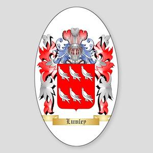 Lumley Sticker (Oval)