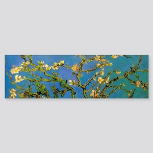 Blossoming Almond Tree by Vincent v Bumper Sticker