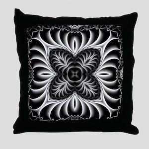 Turbine Pattern Throw Pillow